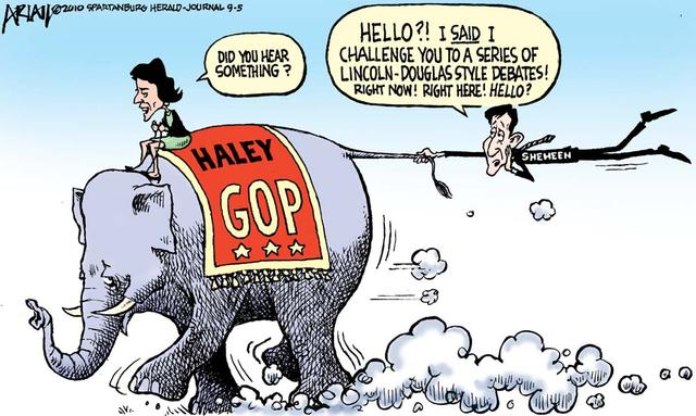 Image result for Nikki Haley CARTOON