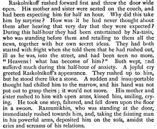 the split personality of raskolnikov in fyodor dostoevskys crime and punishment Dostoevsky's great dramatic narrative has six separate parts, with an  central to  the whole story are the dual murders committed by raskolnikov  to the  structure of crime and punishment is the character of raskolnikov.